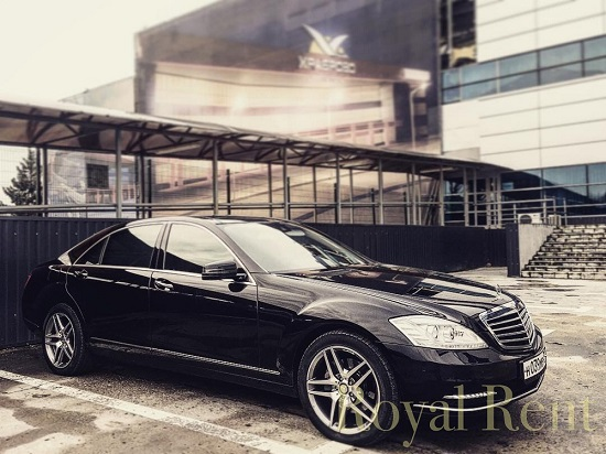 VIP Service Mercedes Benz w221 Long